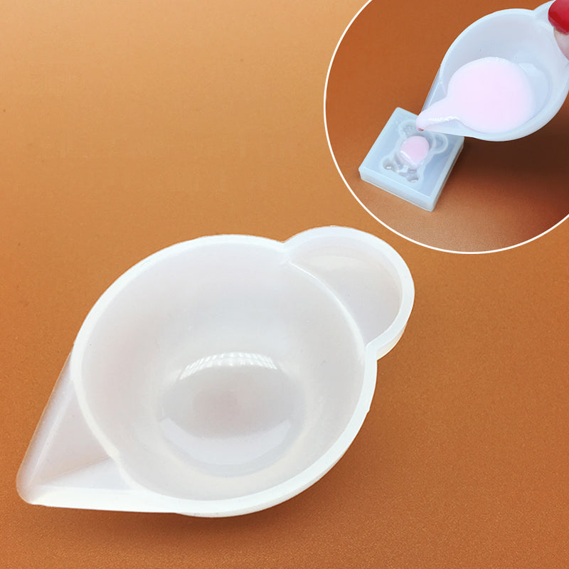5pcs Mini Silicone Mixing Dish