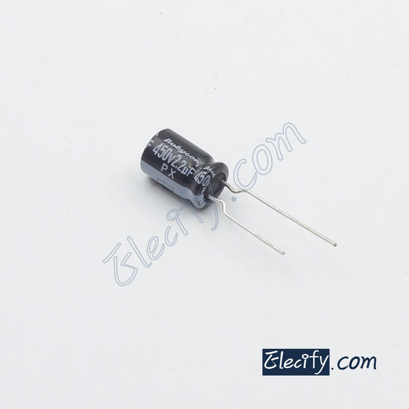 450V2.2uF Rubycon PX Electrolytic Capacitor