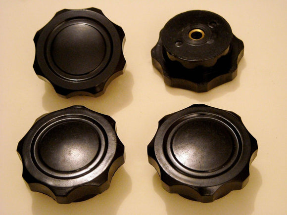 2pcs 6mm knobs for vintage radio