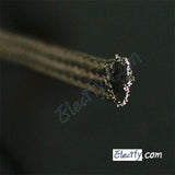 1m 3.3ft 8mm Flat Tinned Copper Braid cable,tin plating copper shield tube