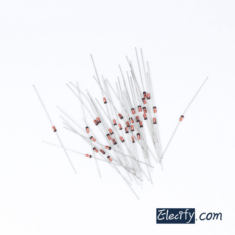 50pcs Diode 0.5W 20V C20 ST BZX55C20V DO-35