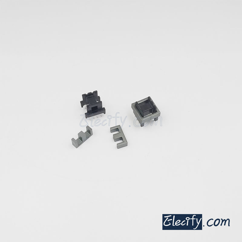 5set EE16 PC40 Ferrite Cores and horizontal bobbin