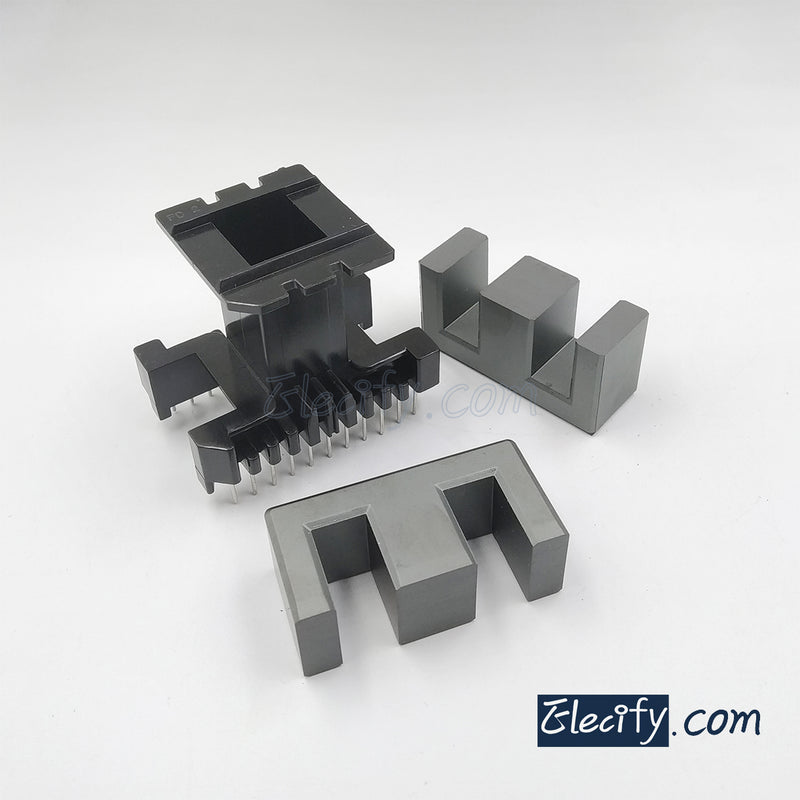 EE55B 11+11pins PC40 Ferrite Cores and bobbin
