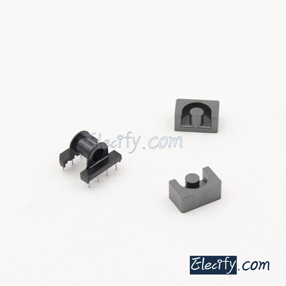 EP17 4+4pins Ferrite Cores and bobbin, transformer core, inductor coil