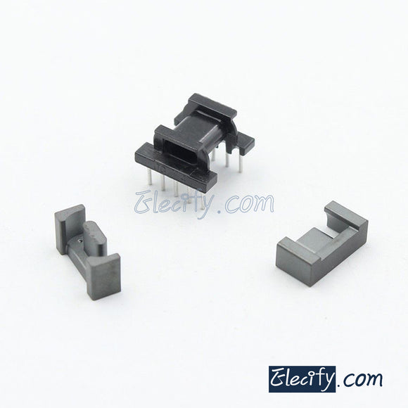 2set EPC13 5+5pins Ferrite Cores bobbin, transformer core, inductor coil