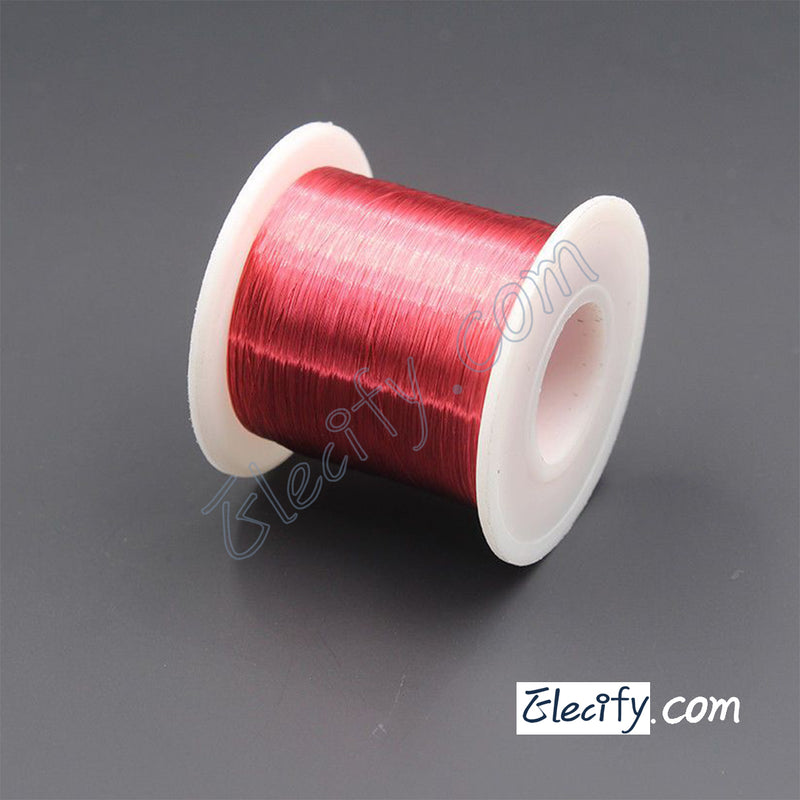 Red color Enameled wire 150g 38AWG,0.1mm,2000m Enameled copper wire,Magnet Wire