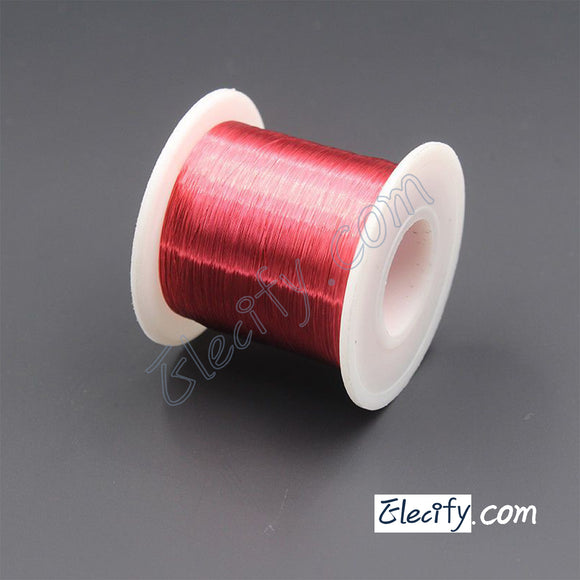 Red color Enameled wire 150g 30AWG,0.25mm,340m Enameled copper wire,Magnet Wire