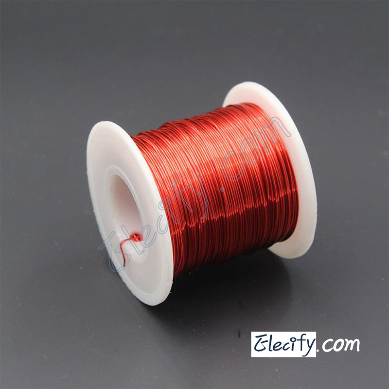 Red Enameled wire 150g, 20AWG, 0.8mm, Enamelled Copper Coil, Magnet Wire