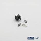 5set UF9.8 2+2pins Ferrite Cores and bobbin, transformer core, inductor coil