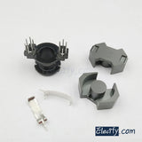 2set RM8 6+6pins Ferrite Cores bobbin,transformer core,inductor coil