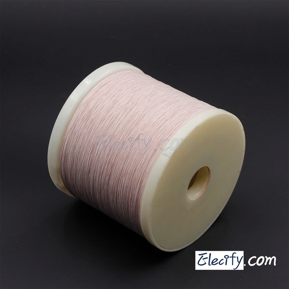 10m LITZ WIRE 12/46AWG, 12 Strands x 0.04mm