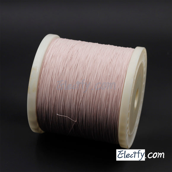 1m LITZ WIRE 40/46AWG, 40 Strands x 0.04mm