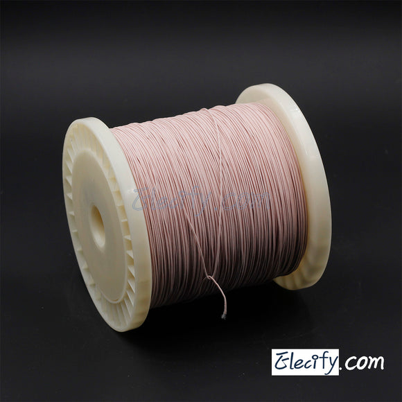 1m LITZ WIRE 100/44AWG, 100 strands x 0.05mm