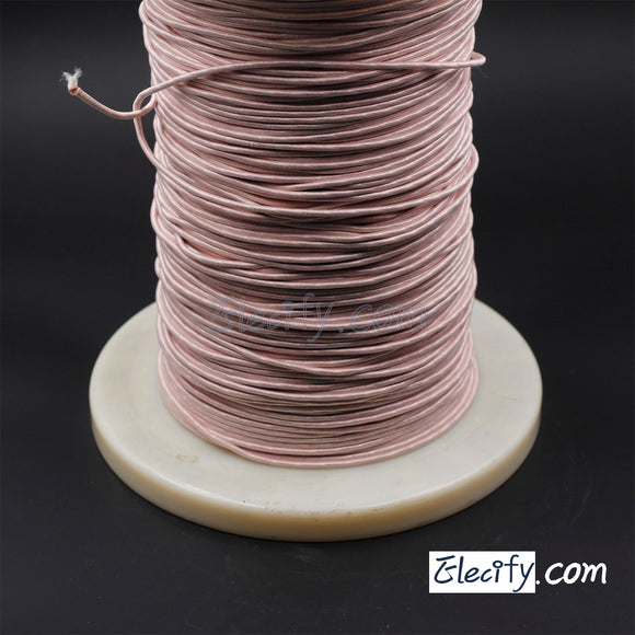 1m LITZ WIRE 1050/44AWG, 1050 Strands X 0.05mm