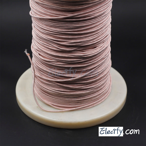 1m LITZ WIRE 1500/44AWG, 1500 Strands X 0.05mm