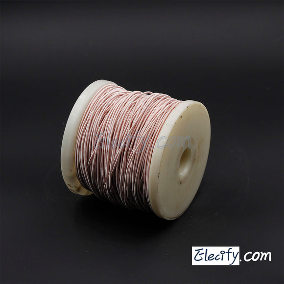 1m LITZ WIRE 350/44AWG, 350 strands x 0.05mm