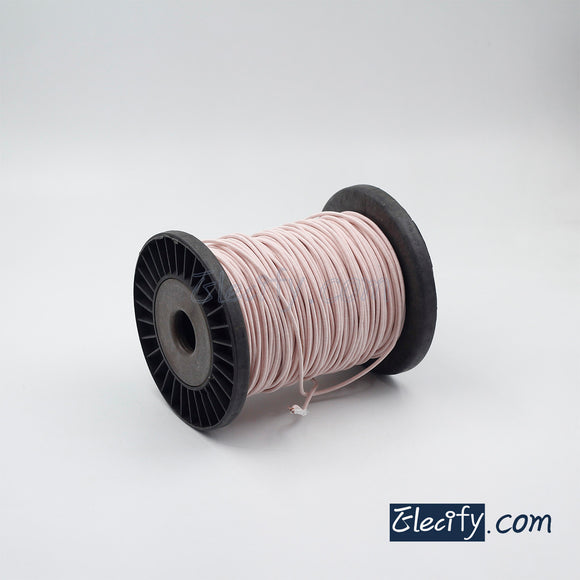 1m LITZ WIRE 600/44AWG, 600 Strands x 0.05mm