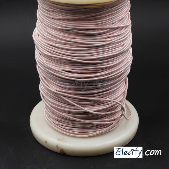 1m LITZ WIRE 660/44AWG, 660 strands x 0.05mm