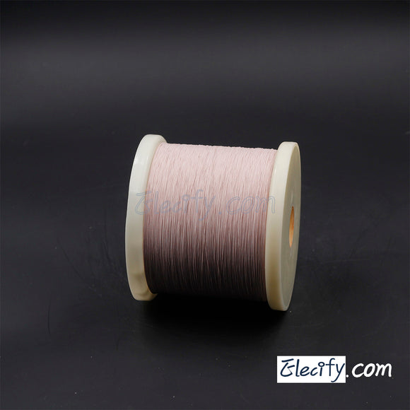 1m LITZ WIRE 1/38AWG, 0.1mm x 1 strands