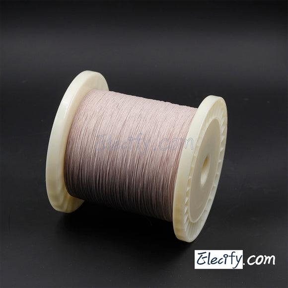 1m LITZ WIRE 6/38AWG, 0.1mm x 6 strands
