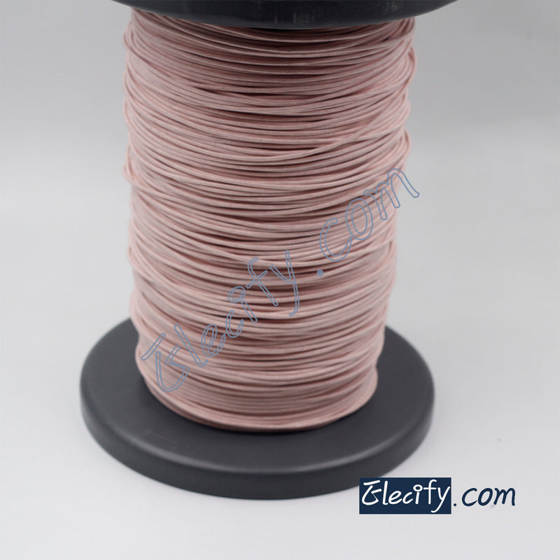 1m LITZ WIRE 320/32AWG, 320 strands X 0.2mm