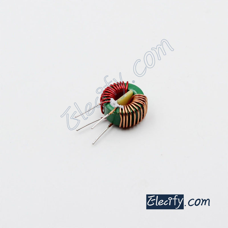toroidal common mode choke 1mH, filter inductor, 14 x 8 x 7mm