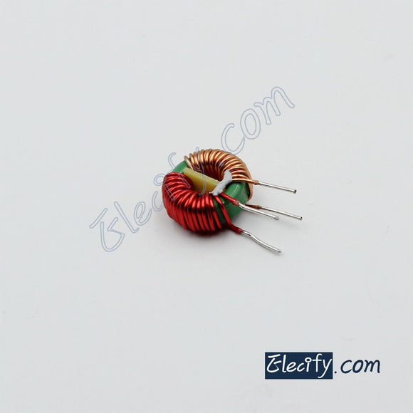 toroidal common mode choke 2mH, filter inductor, 14 x 9 x 5mm 5A