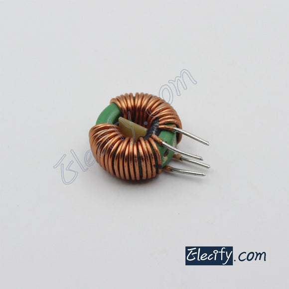 toroidal common mode choke 4.7mH, filter inductor, 25 x 15 x 10mm 5A