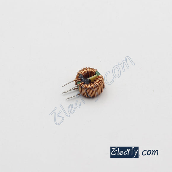 toroidal common mode choke 5mH 6A, filter inductor, T16 x 12 x 8mm core
