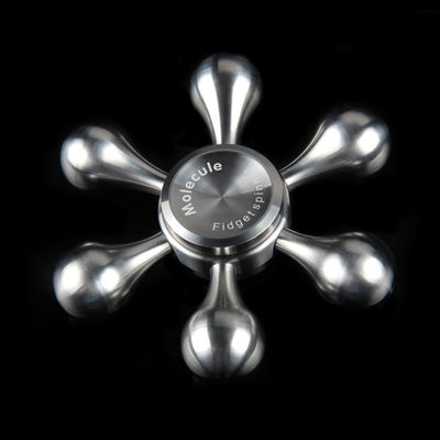 2017 Fidget Toys Pattern Hand Spinner Metal Removable Arms - FidgetSpinners.com