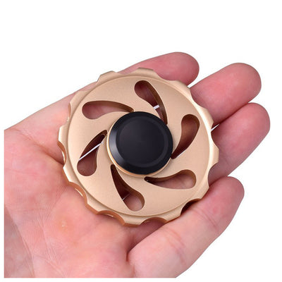 Aluminum Alloy Round Cyclone Fidget Spinner Gyro - FidgetSpinners.com