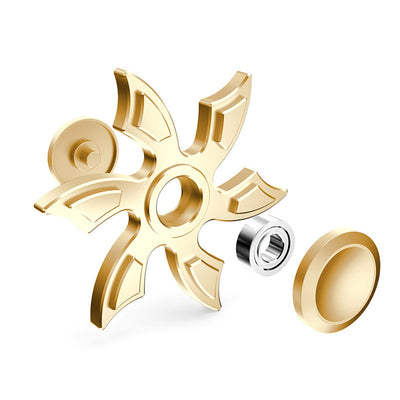 Very Cool Snowflake Aluminum Alloy Fidget Spinner with 606 Bearing