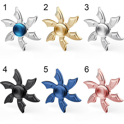 Very Cool Snowflake Aluminum Alloy Fidget Spinner with 606 Bearing - FidgetSpinners.com