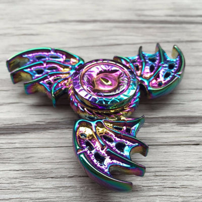 Dragon Wing Tri Hand Spinner EDC Fidget Toy - FidgetSpinners.com