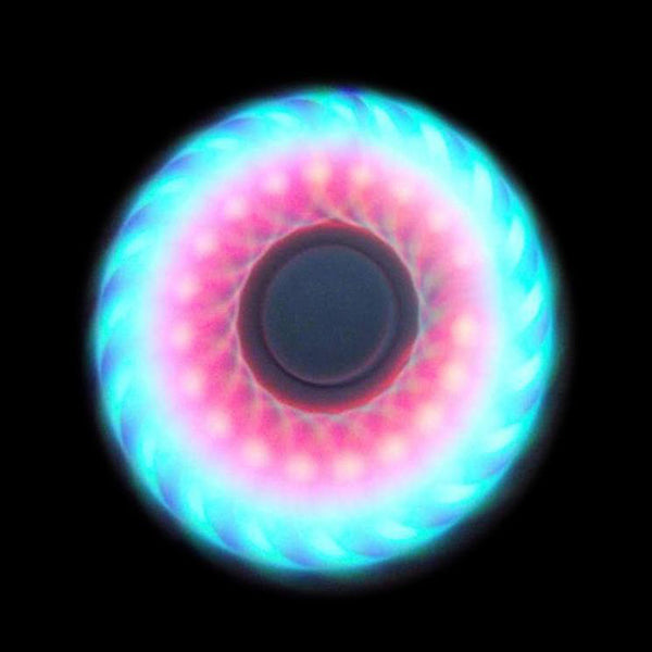 Latest LED Light Fidget Spinner ABS Plastic EDC