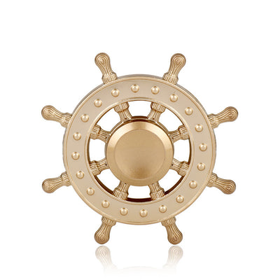 Pirates of the Caribbean Rudder Design Hand Spinner - FidgetSpinners.com