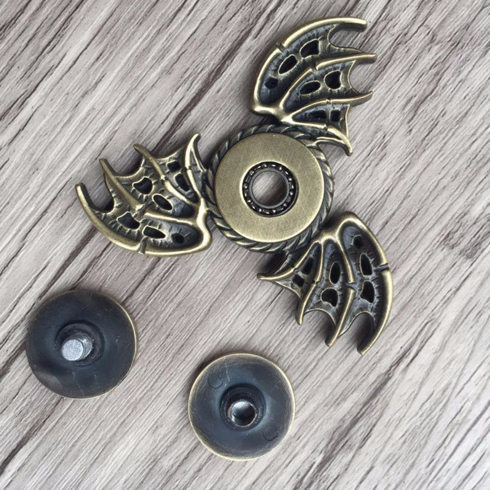 Ships from USA Amazing Bronze Dragon Wing High Speed Fidget Hand Spinner
