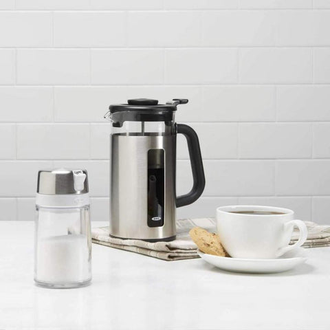oxo french press coffee maker for 8 cups