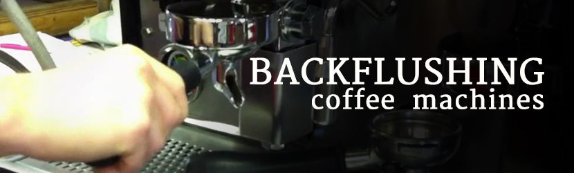 Backflushing Coffee Machine