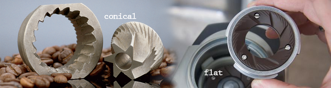 flat vs conical burrs