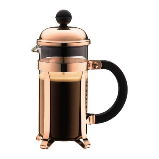 Bodum Chambord 3 Cup - Copper Press, simple, Bodum - Barista Warehouse