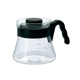 Hario 450ml V60 Coffee Server - Black, simple, Barista Warehouse - Barista Warehouse