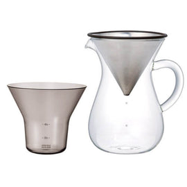 Kinto Stainless Steel Slow Coffee Set - 600ml