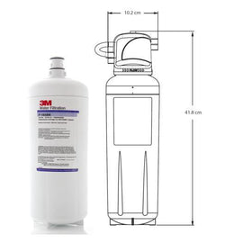 3M Replacement Water Filter, 3 Stage Softening, High Flow