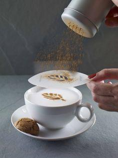 Aerolatte 6-Piece Cappuccino Art Stencil Set, simple, Aerolatte - Barista Warehouse