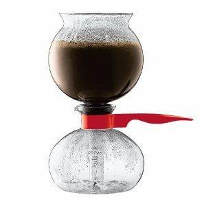 Bodum Pebo Syphon - Red, simple, Bodum - Barista Warehouse
