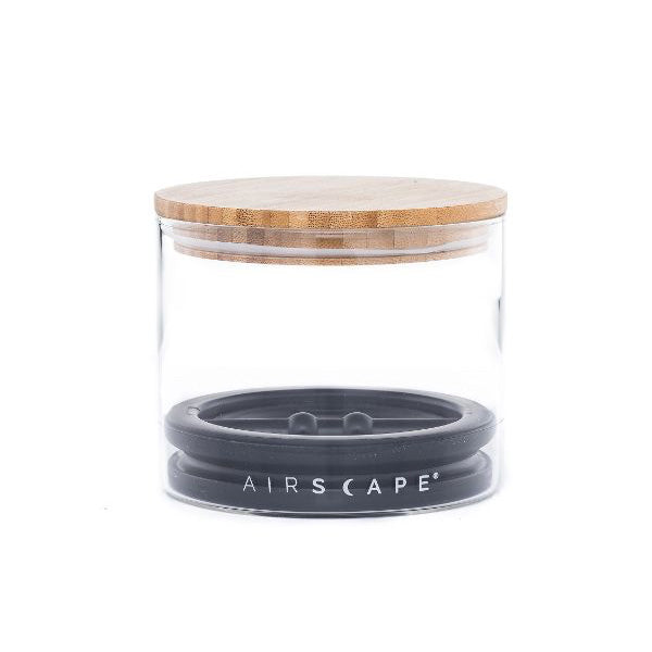 Airscape Glass & Bamboo Lid