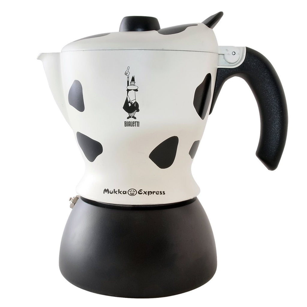Bialetti Mukka Cow Express - 2 Cup, simple, Bialetti - Barista Warehouse