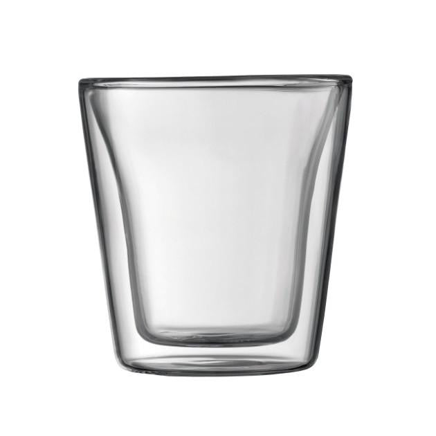 Bodum Canteen Glass 2pc, Canteen Glass, Bodum - Barista Warehouse
