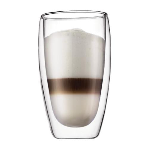 Bodum Pavina 15oz Glass 2pc, Driking Glasses, Bodum - Barista Warehouse